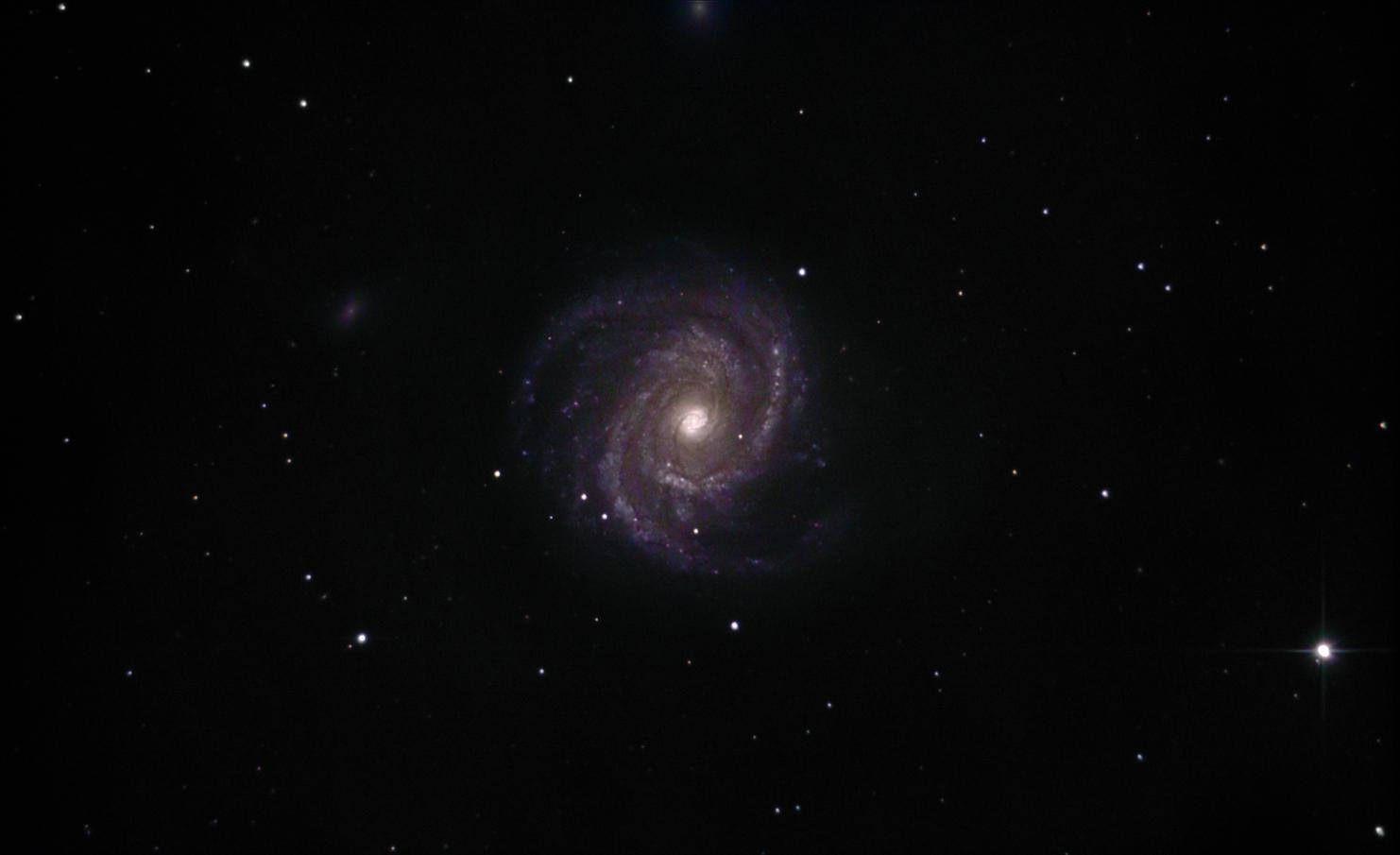 Ngc4565 et m100: couleur et spirale 40660938255_a12c7d05c2_o