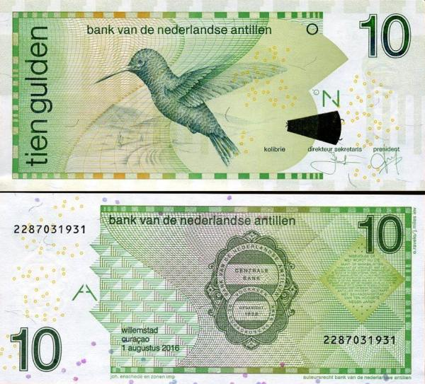 10 Guldenov Holandské Antily 2016, P28h