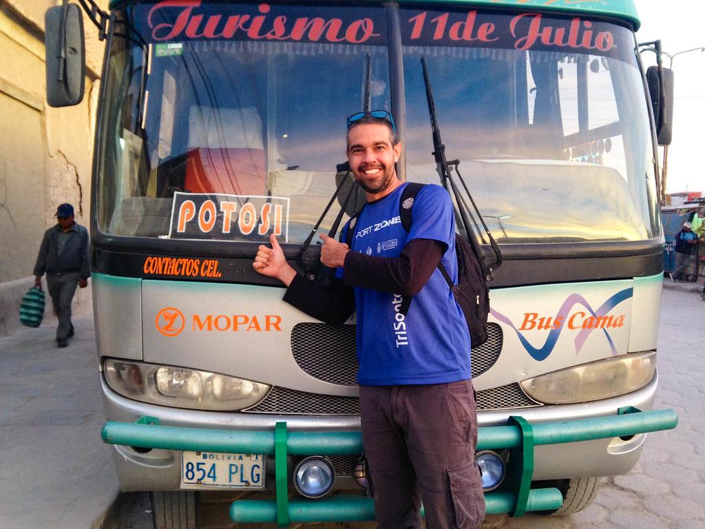 Bus hasta Potosi