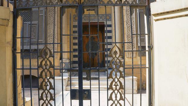 A Closed small palace