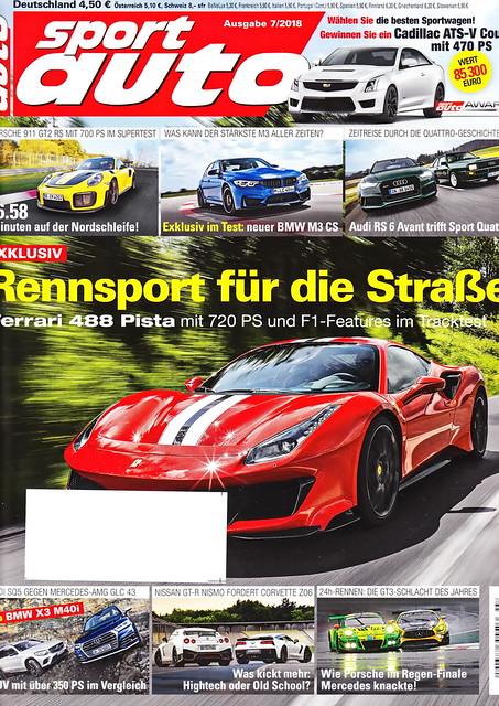 sport auto - 2018-07 - cover
