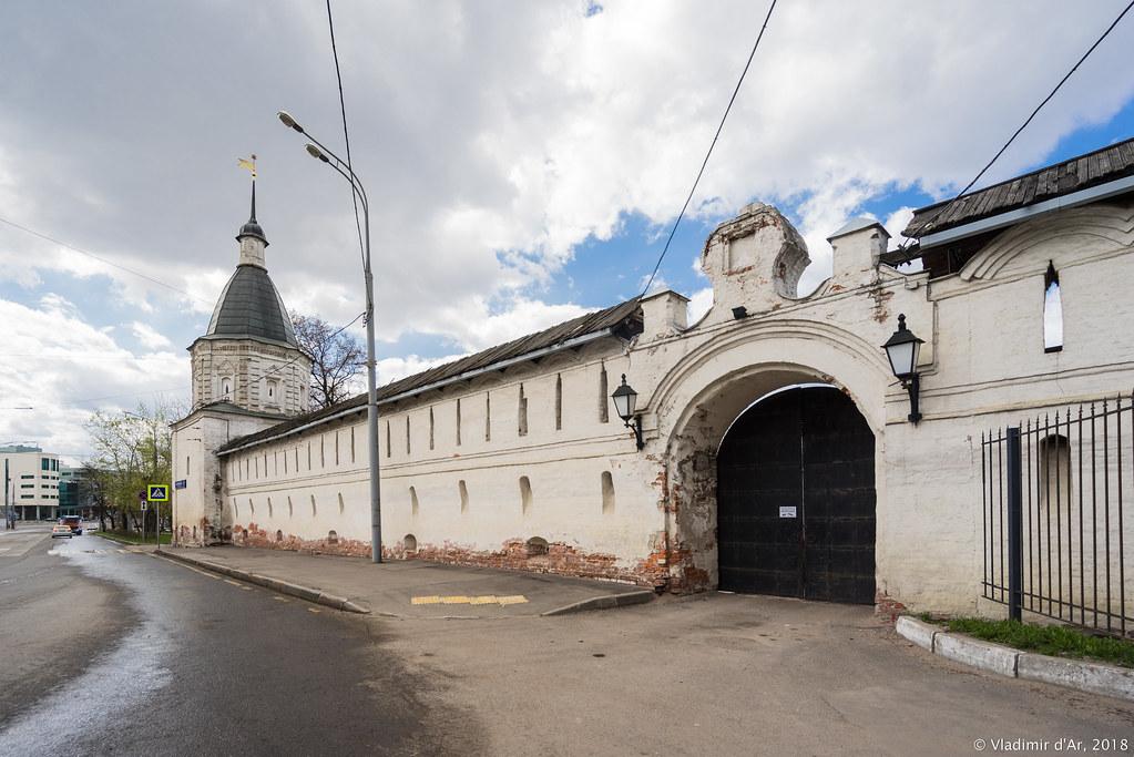 Спасо-Андроников монастырь. Южная стена.