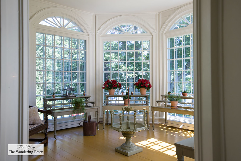 Gorgeous sunroom that no one is allowed to enter