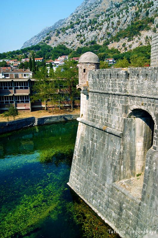 Бастион Бембо, вид с крепостной стены города