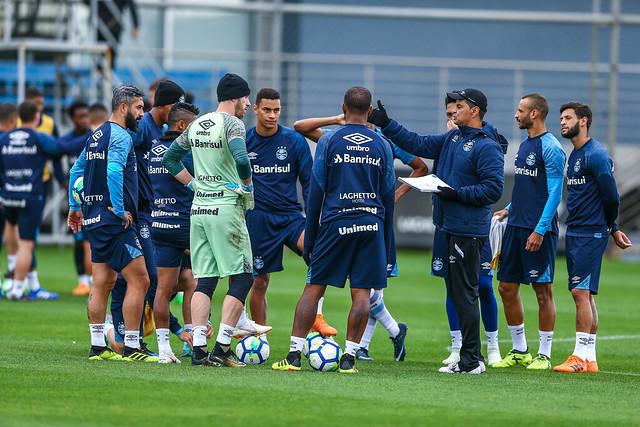 Treino Grêmio 27/07/18