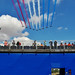 RIAT 2018 - Reds over the FRIAT stand by KPAR Media UK