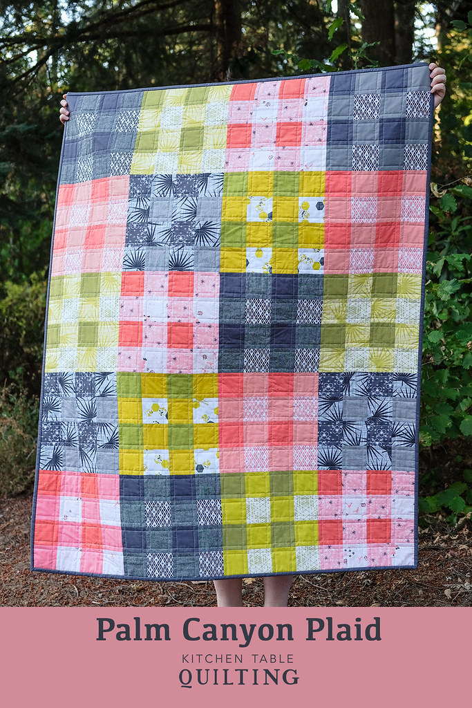 Palm Canyon Plaid - Kitchen Table Quilting