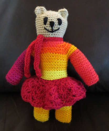 Anna Crocheted Mother Bear
