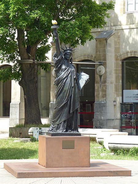 statue de la liberté CNAM