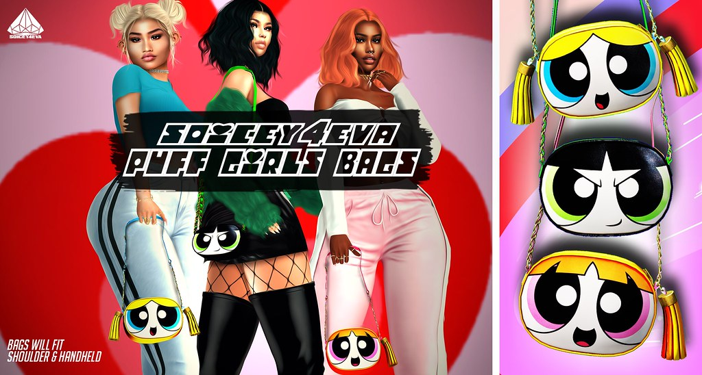 ?SOICEY4EVA? ✨Puff Girl Bags? Now Available!