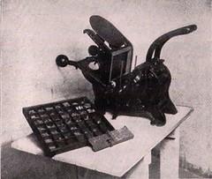 NUM SEp 1963, 1203 Numismatist printing press
