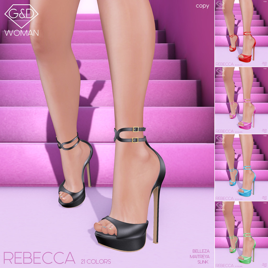 G&D Sandals Rebecca square