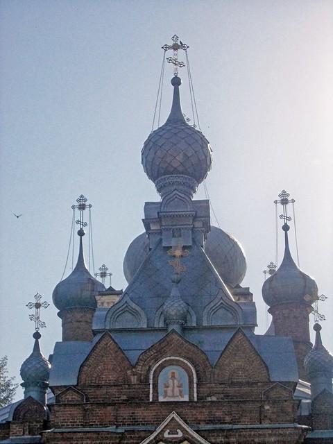 Купола Спасо-Кладбищенской церкви, Nikon COOLPIX L23
