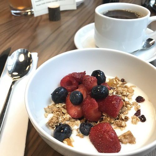Breakfast at Le Germain, Ottawa