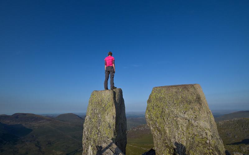 Tryfan Snowdonia, Wales