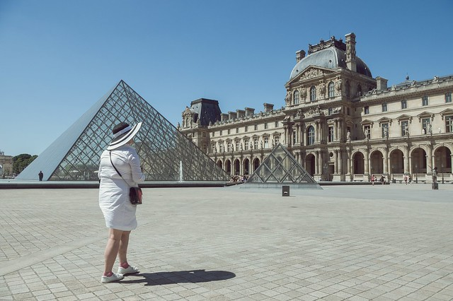 Lady and Louvre