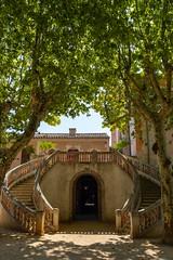 Staircase at Maison rouge, Saint Jean du Gard, France - Photo of Peyrolles