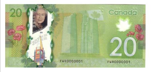 No. 1 Serial Number Banknote
