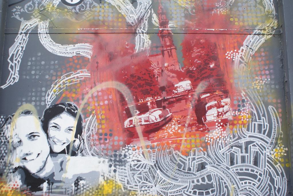 Street art à Amsterdam, les gouts les couleurs. Tout ça...
