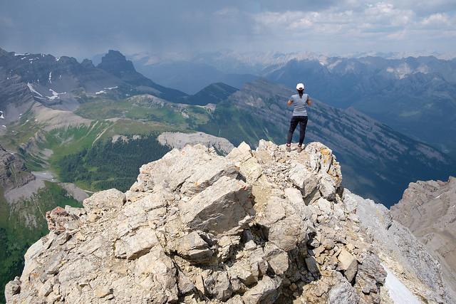 Scrambles - Mt. Bourgeau-10