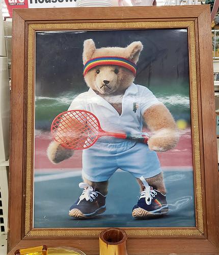 tennis teddy
