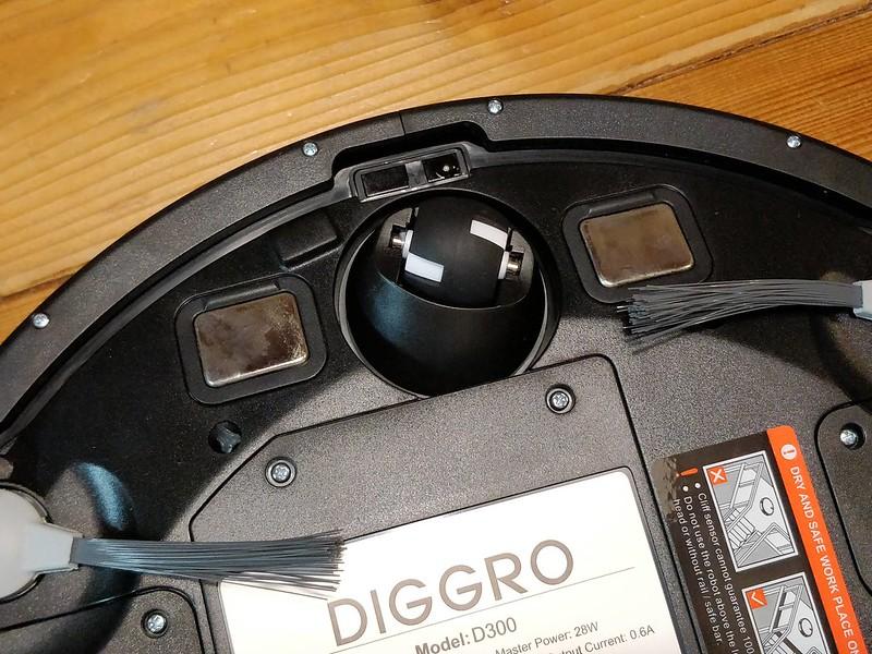 Diggro D300 ロボット掃除機 開封レビュー (49)