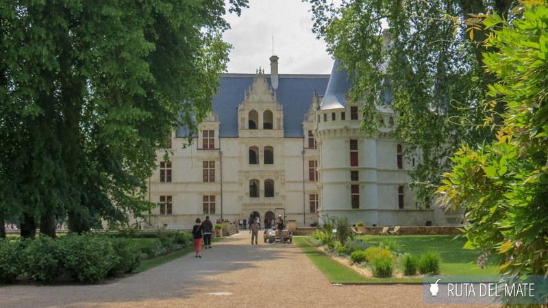 Castillos del Loira Azay-le-Rideau IMG_5221