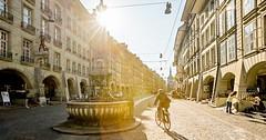 Cyklotrasy skrz švýcarská města