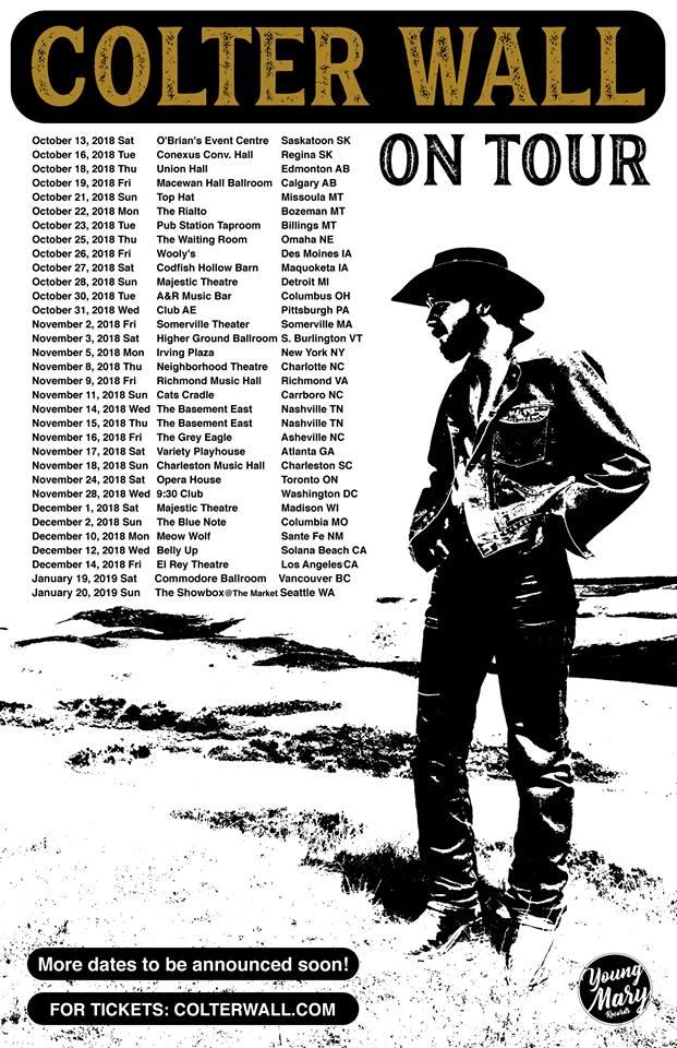 Colter Tour