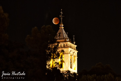 Luna de sangre/eclipse, Torre de San Juan 27/07/18