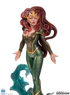 有如模特兒一般的優雅姿態!! DC Collectibles DC 封面女郎系列【梅拉by Jöelle Jones】DC Cover Girls Mera by Jöelle Jones 全身雕像作品