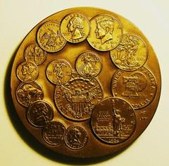 Tom Rogers U.S. Mint Bicentennial Medal Reverse