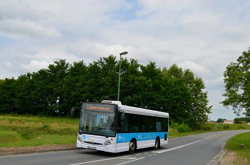 Saint-Jean-de-Marsacq - HeuliezBus GX 127 C - 31/07/18