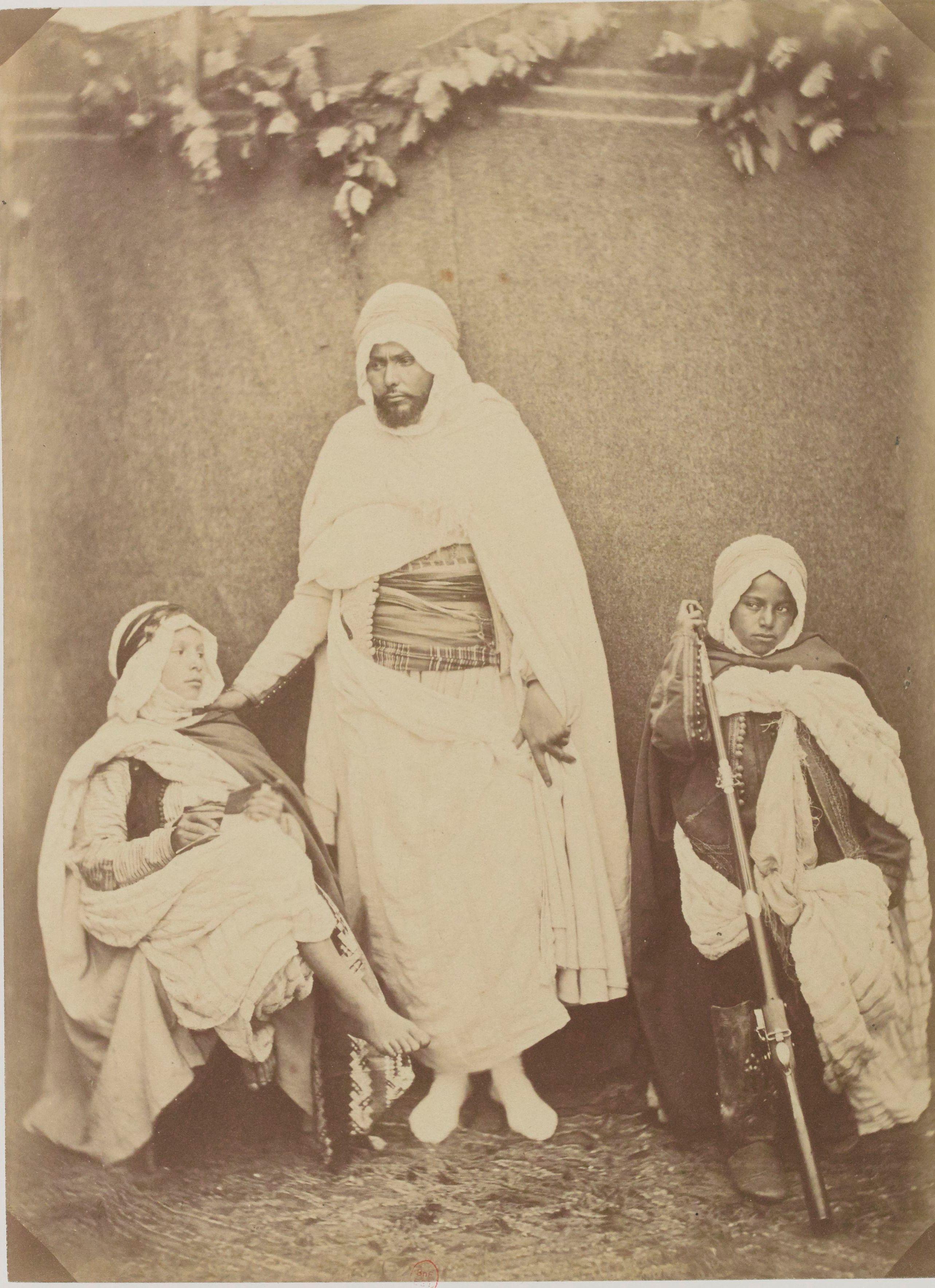 Али бен-Риа. Его брат Бел-Хадж и его два племянника Мра и Ахмед