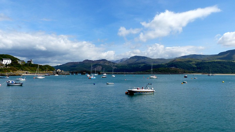 This is a picture of Barmouth Bridge