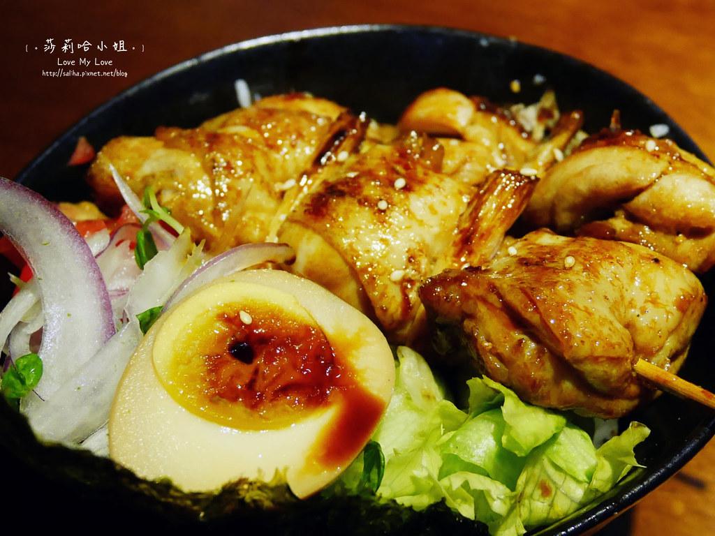 士林直火人燒肉丼飯屋串燒雞肉蓋飯 (1)