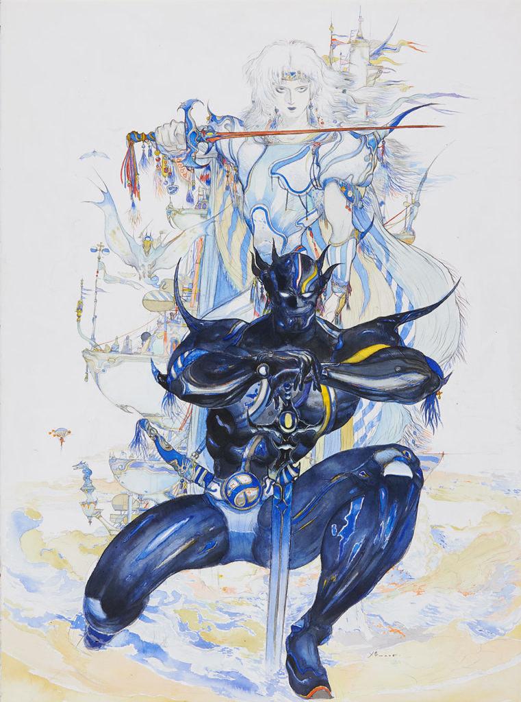 百件畫作讓你沉浸於奇幻世界,『FINAL FANTASY與天野喜孝的世界展』今日開展!