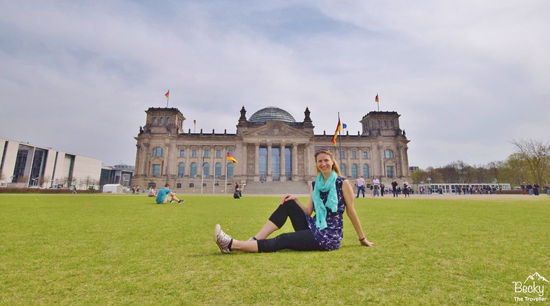 Reichstag building - Berlin itinerary for 2 days