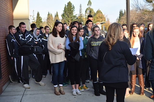 2015 SRVHS Basketball Service Day