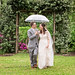Walking together in the rain - The Grove Bed and Breakfast in Marion