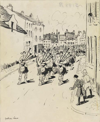 Camp Life at Etaples: one of five sketches