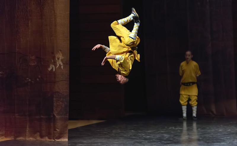 Shaolin Temple Monk Flip