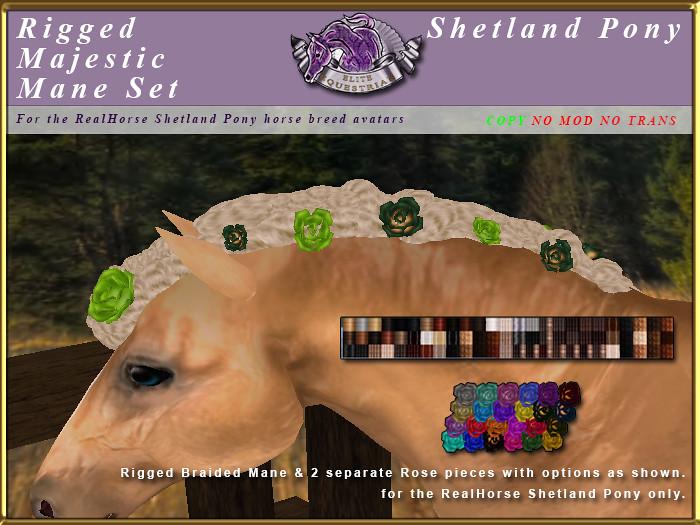 E-RH-Shetland-ManeSet-Magestic - TeleportHub.com Live!