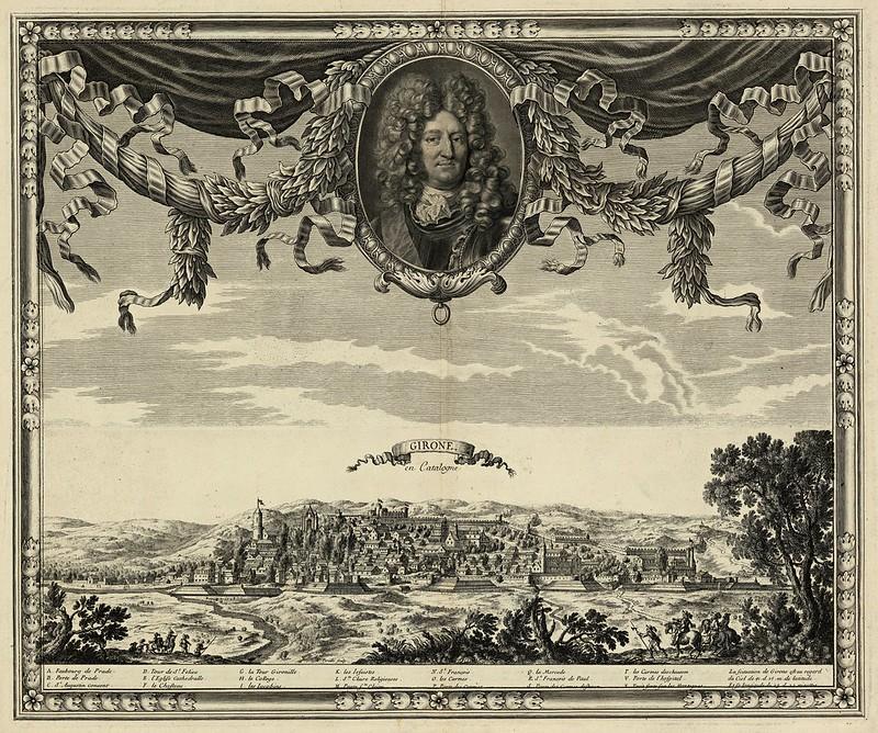 Sieur de Beaulieu - Girone en Catalogne (1659)