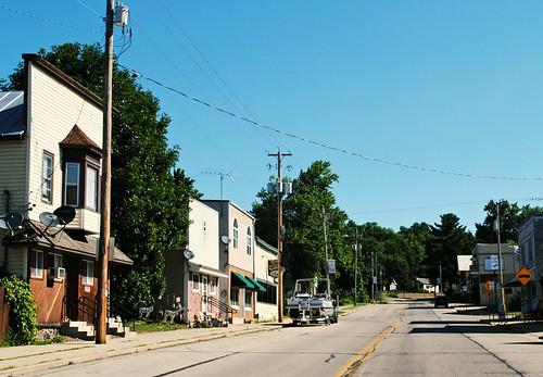Main Street, Poy Sippi, Wisconsin