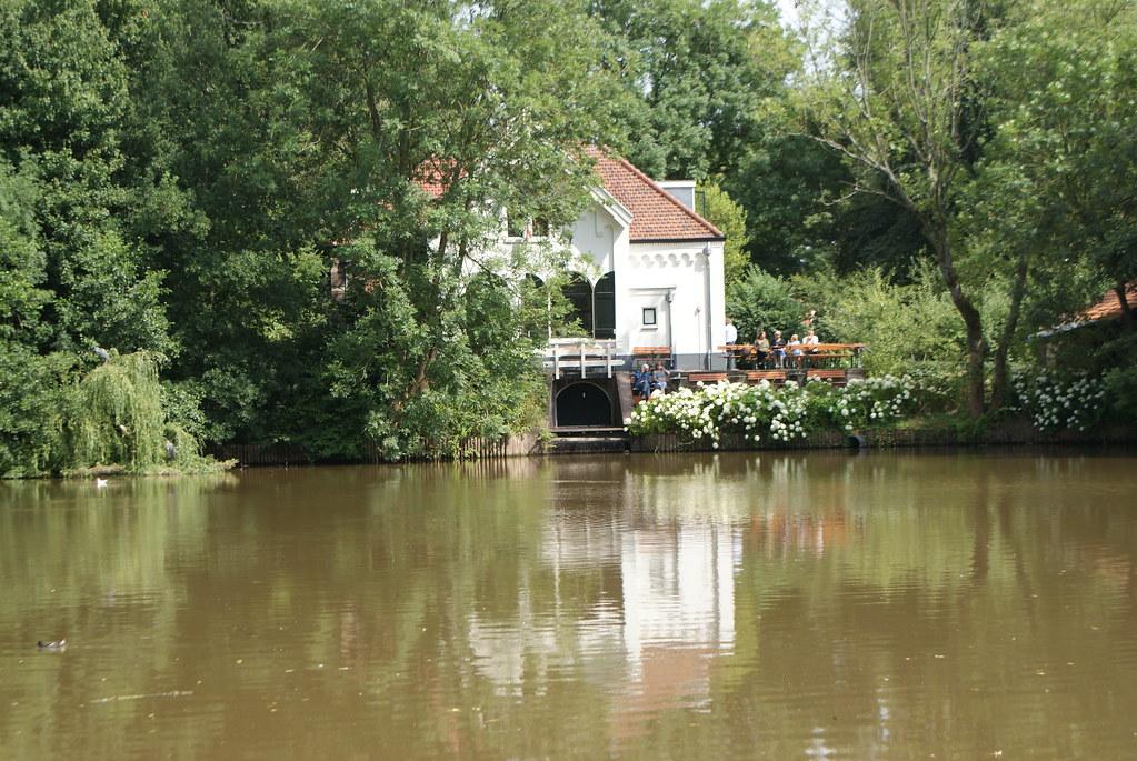 Distillerie 't Nieuwe Diep dans le Flevopark dans l'est d'Amsterdam.