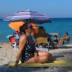 Nokia Lumia 1020 - Spain 2018 - My lovely wife Lisa at Playa del Albir