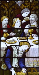 The Marriage Feast at Cana (detail, Burlison & Grylls, 1900)