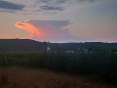 Distant Evening Storm
