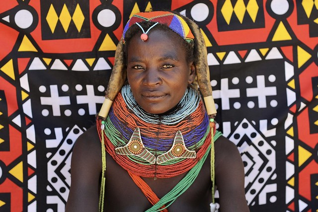 Mwila tribe woman Angola